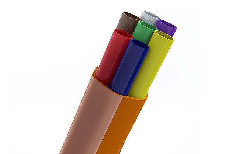 elbor fiber optik urunler kablo koruma borusu coklayici boru cover