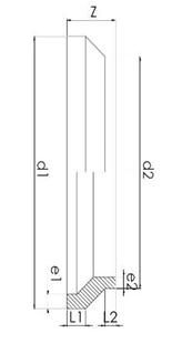 Redüksi̇yon – Kısa Ti̇p PE100