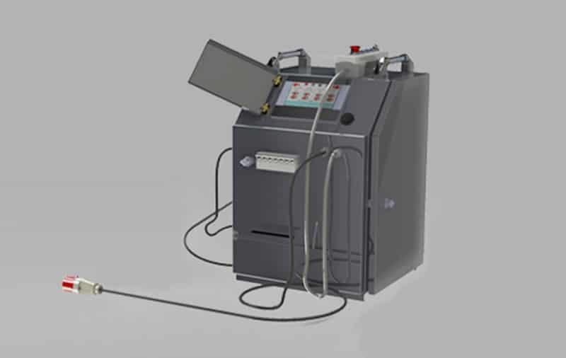 elbor w1200 polietilen boru cnc alin kaynak makinasi