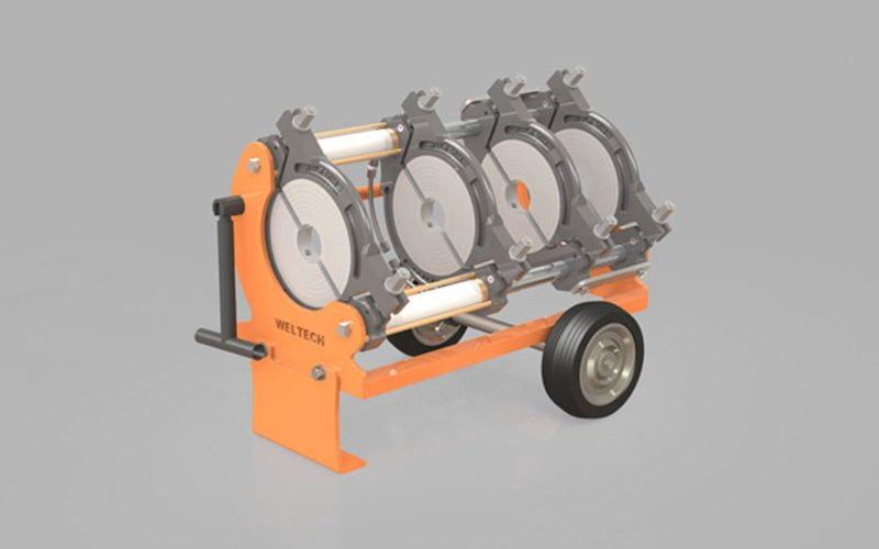 elbor w250 polietilen boru alin kaynak makinasi other 1