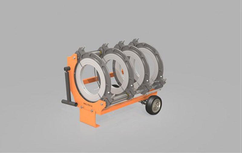 крышка машины для стыковой сварки полиэтиленовых труб elbor w400 1