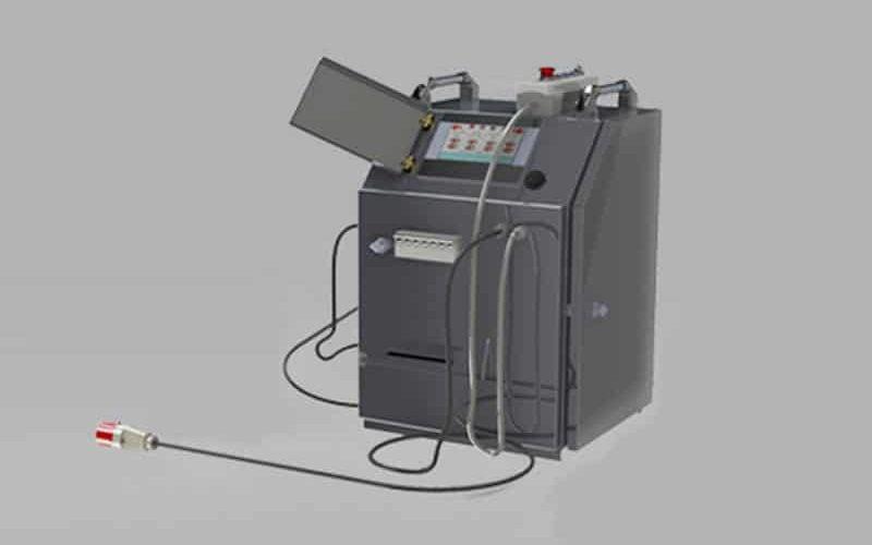 elbor w630 polietilen boru cnc alin kaynak makinasi