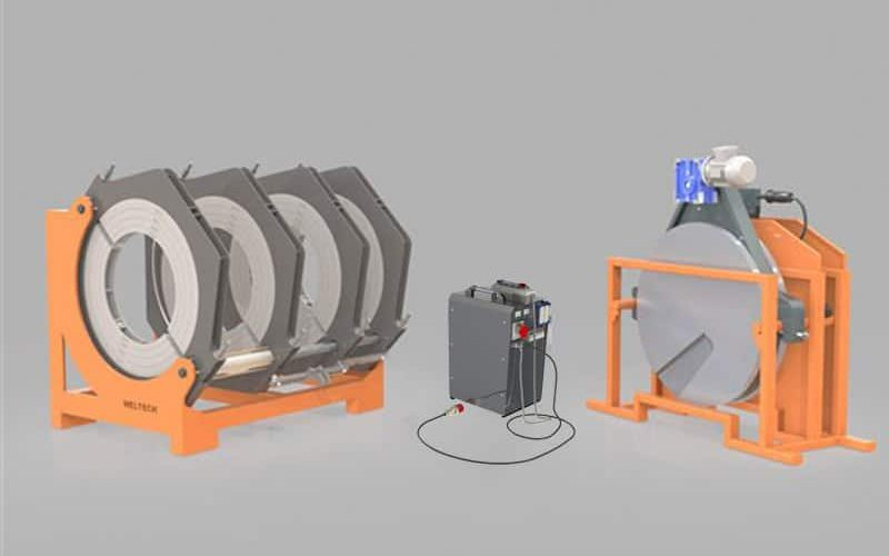 elbor w800 polietilen boru alin kaynak makinasi cover