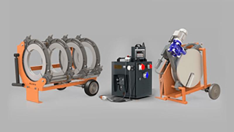 مع آلة اللحام التناكبي CNC ، يتم ربط الأنابيب والتجهيزات البلاستيكية المختلفة باستخدام طريقة اللحام التناكبي.