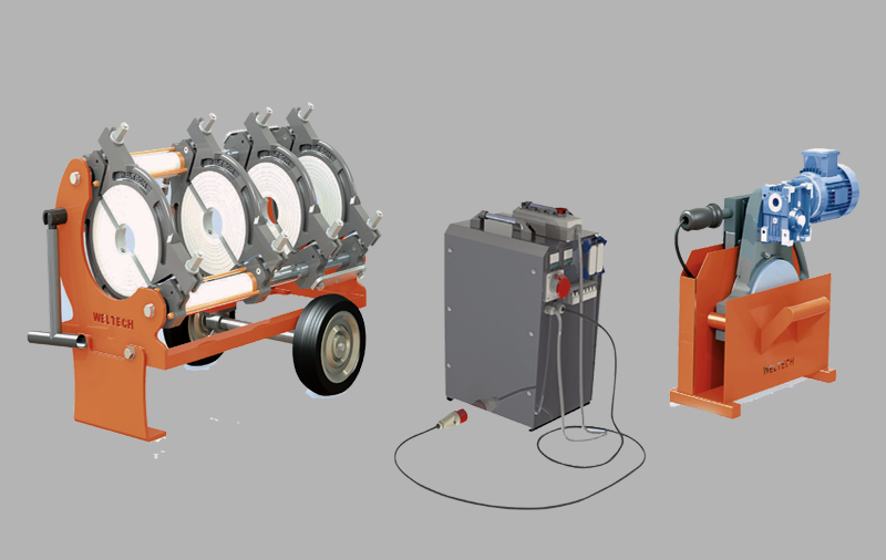 elbor w250 polietilen boru alin kaynak makinasi cover