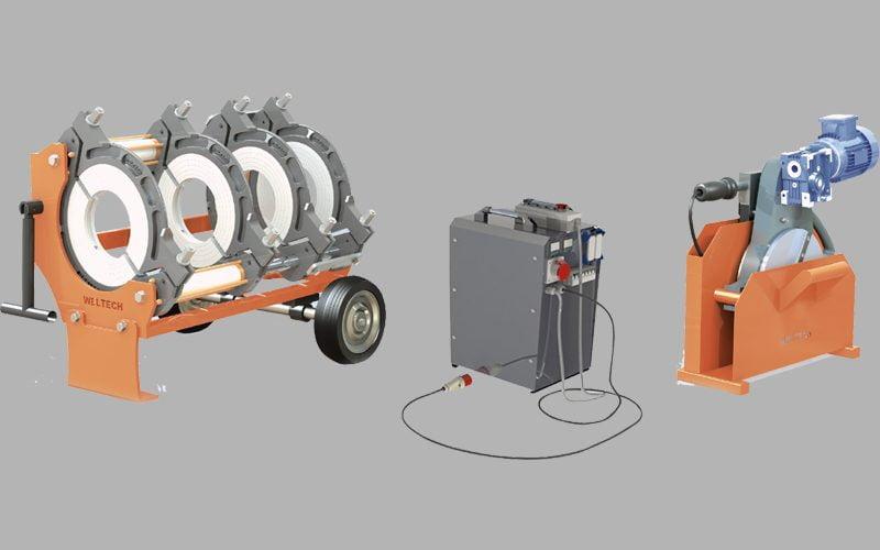 elbor w315 polietilen boru alin kaynak makinasi cover