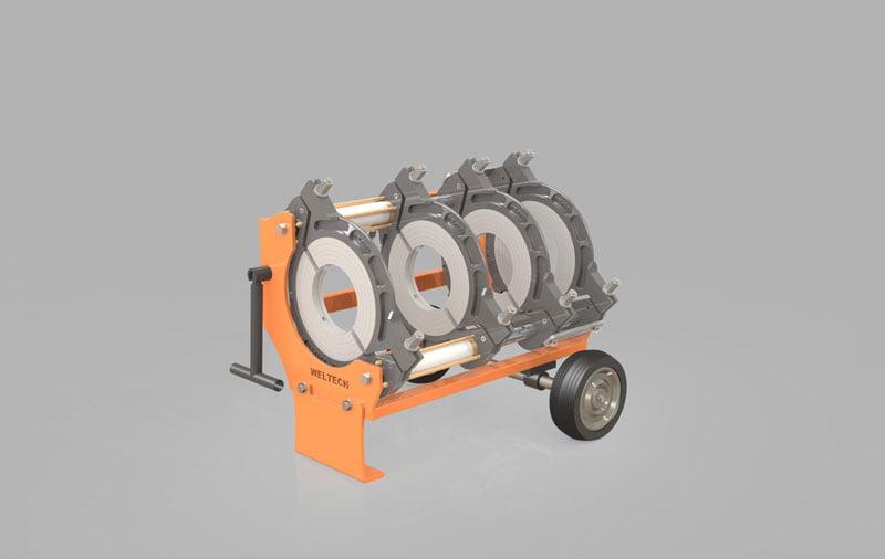 elbor w315 polietilen boru alin kaynak makinasi other 1