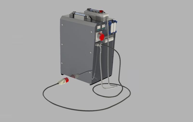 elbor w630 polietilen boru alin kaynak makinasi other 4