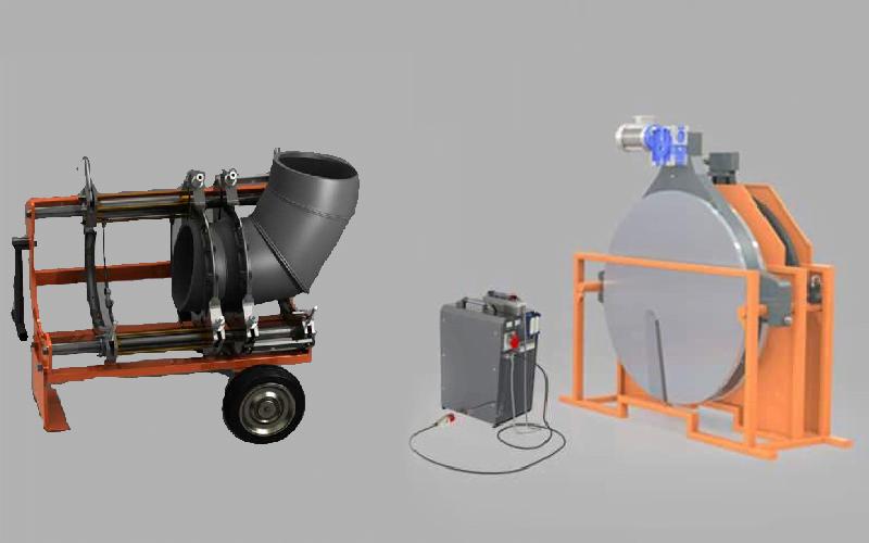 Máquina de soldadura a tope CNC