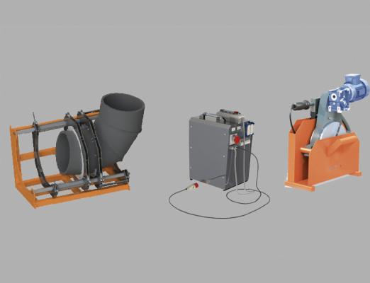 آلات صهر الأنابيب