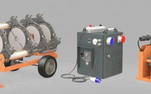 hdpe cnc welding machine